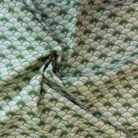Tissu coton à éventails : 8.50€