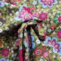 Tissu coton popeline forest : 850€