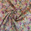 Tissu Batiste coton à fleurs Carla : 14.85€