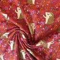 Tissu jersey coton hérisson : 11.85€