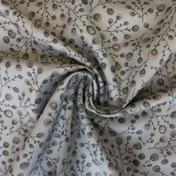 Tissu popeline coton Bio : 11.90€