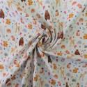 Tissu double gaze forest : 11.50€
