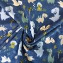 Tissu jersey coton dinosaures: 11.50€