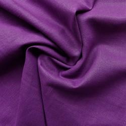 Tissu lin violet : 12.60€