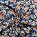 Tissu  jersey coton flowers : 11.50€