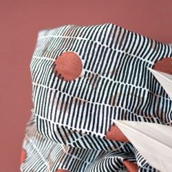 """Tissu gaze de coton """"Mirage Chestnut"""" : 18.00€"""