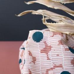 """Tissu gaze de coton """"Mirage Forest"""" : 18.00€"""