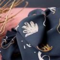 """Tissu viscose """"Sandstorm night  Atelier Brunette : 19.90€"""