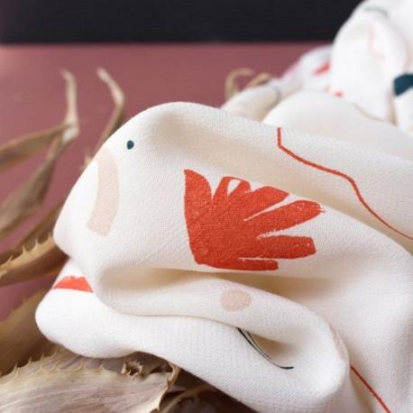 Tissu viscose sandstorm off-white atelier Brunette : 19.90€