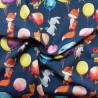Tissu sweat coton Nieuwkoop : 15.70€