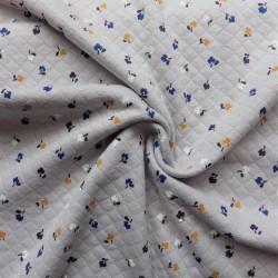 Tissu jersey matelassé : 15.20€