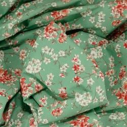 Tissu coton Sakura cerisiers : 9.70€