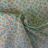 Tissu coton enduit panthère : 12.50€