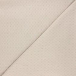 Tissu coton structuré : 9.50€