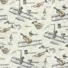 Tissu cretonne coton à instruments de musique : 9.50€