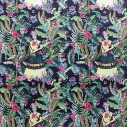 Tissu cretonne coton Frida Kahlo : 10.80e